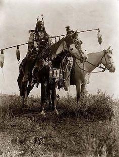 Indiani a cavallo
