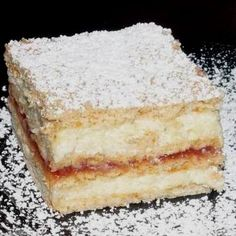 Hungarian Desserts, Winter Food, No Bake Cake, Vanilla Cake, Baking Recipes, Healthy Living, Deserts, Food And Drink, Sweets