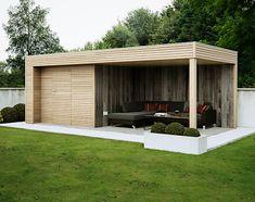 Pergola With Roof, Pergola Patio, Diy Patio, Small Pergola, Modern Pergola, Covered Pergola, Outdoor Garden Rooms, Outdoor Landscaping, Backyard Patio Designs