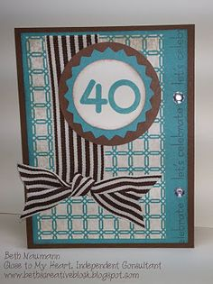 Great birthday card...just pick your number.