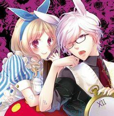 Yui Komori and Subaru Sakamaki 【Diabolik Lovers】