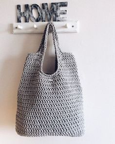 сумка из шнура