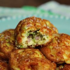 The highlight of your morning meal will be these balls of creamy, savory goodness.