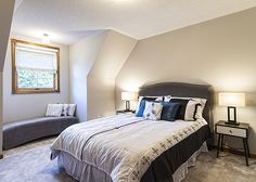 Staged Guest Bedroom #BTSH #Staging
