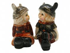 Vintage Salt and Pepper Shakers Norwegian Vikings – GermanGiftOutlet.com