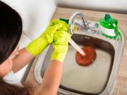Drain Cleaner Home Depot, Kitchen Sink Clogged - Plumbing Accessories, Hair Clogged Drain Bathtubs. Bathtub Drain, Sink Drain, Clogged Drains, Ph Da Agua, Kitchen Sink Clogged, Kitchen Sinks, Home Depot, Cleaning, Cleanser