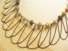 Draped Chain Necklace - Luxe DIY