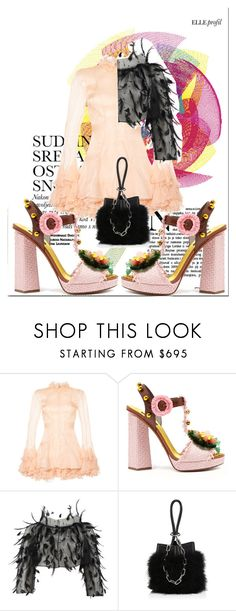 """""""#casual #elegant #outfit #party"""" by nicollestyle ❤ liked on Polyvore featuring Francesco Scognamiglio, Dolce&Gabbana, Oscar de la Renta, Alexander Wang, casual, outfit, party and Elegant"""