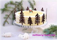Cake «Napoleon Tender» for the New Year! | CULINARY BOOK