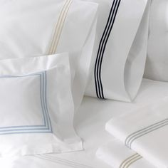 Matouk —Bel Tempo - Duvet Covers - Bed - simple hotel bedding