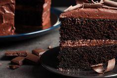 Heavenly Chocolate Cake Recipe, Chocolate Cake From Scratch, Decadent Chocolate Cake, Decadent Cakes, Cake Recipes From Scratch, Chocolate Cake Mixes, Delicious Chocolate, Chocolate Week, Love Chocolate