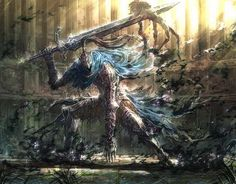 This post is peaceful its commentators kind - Imgur Dark Souls Artorias, Geek Culture, Fantasy Characters, Concept Art, Geek Stuff, Drawings, Painting, Ideas, Sd