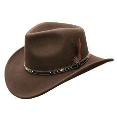 The Star Rider waterproof wool hat is an excellent all round hat. Looks sharp and will protect you from the elements. Official Online Store of Conner Hats. Aussie Hat, Mens Newsboy Hat, Cowboy Action Shooting, Round Hat, Mens Boots Fashion, Western Hats, Garment Bags, Leather Hats, News Boy Hat