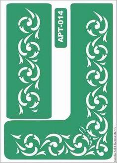 014 Stencil Patterns, Stencil Designs, Bordado Jacobean, Kirigami, Laser Art, Metal Embossing, Stenciled Floor, Letter Stencils, Stained Glass Designs