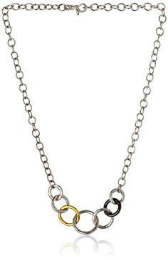 "GURHAN "" Hoopla"" Front Link Chain Necklace"