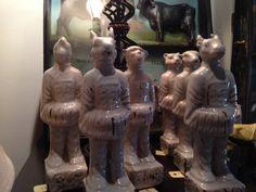 Antique White Statues