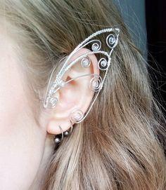 Faery ears Elven ears Faery ear cuffs Elf by CreationsOfStarlight