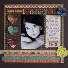 Everyday I Love You - Scrapbook.com