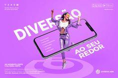 POSICIONAMENTO 2020 - O-FERTA.COM on Behance Ads Creative, Creative Posters, Creative Advertising, Print Advertising, Print Ads, Advertising Campaign, Sports Graphic Design, Graphic Design Posters, Graphic Design Inspiration