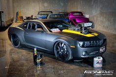 drag race burn outs | Killa B Chevrolet Camaro Intense Burnout Session