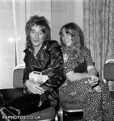 Sandy Denny with Rod Stewart