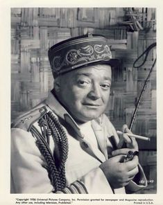 """Peter Lorre in """"Congo Crossing"""" Classic Movie Stars, Classic Films, Vintage Comic Books, Vintage Comics, Hollywood Actor, Classic Hollywood, John Carradine, Claude Rains, Knight Tattoo"""