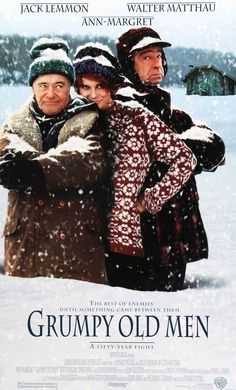 "Grumpy Old Men (1993) Vintage Movie Poster - 27"" x 40"""