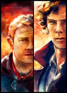 John and Sherlock. Wow.