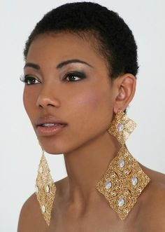 Best Natural Punk Short Hairstyles for Black