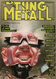 Cover for Tung metall (Epix, 1986 series) #1/1988 [25]