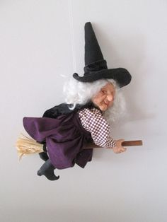 Halloween Witch Witch Doll Handmade Witch Witch Art Doll