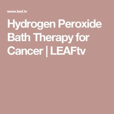 Hydrogen peroxide is usually associated with disinfecting and cleaning, but it can also benefit the growth of your plants. From sprouting seeds to your mature plants, hydrogen peroxide will give a boost anytime during the growing cycle. Natural Cures, Natural Healing, Leaf Tv, Cancer Fighter, Cancer Cure, Hydrogen Peroxide, Plant Growth, Health Remedies, Writing A Book