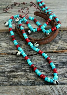 'Red Sky' Rhythm Beads   NEW 2014-