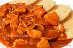 Kúsok môjho sveta: Morčacie prsia na hríboch Sweet Potato, Chicken Recipes, Potatoes, Vegetables, Blog, Potato, Vegetable Recipes, Blogging, Veggies
