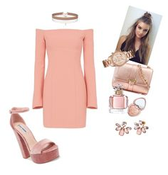 """Untitled #43"" by lil-kama on Polyvore featuring Steve Madden, Aspinal of London, Cinq à Sept, Too Faced Cosmetics, Guerlain, Marchesa and Miss Selfridge"