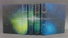 Isaac Asimov foundation series by bookbinder Gavin Dovey