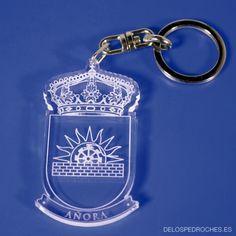 Llavero de metacrilato del escudo de Añora silueteado #ValleDeLosPedroches   http://delospedroches.es/es/metacrilato/183-llavero-metacrilato-escudo-ll109.html