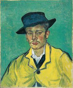 Portrait d'Armand Roulin (Portrait of Armand Roulin)
