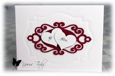 Wedding / Anniversary card by YoursTruly - Cards and Paper Crafts at Splitcoaststampers