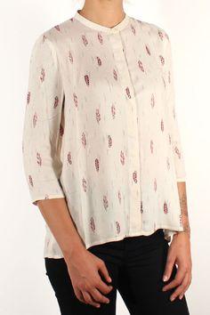 Sessun Six Crows Shirt Ivory