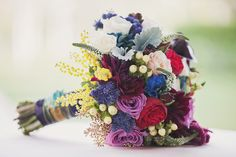 Who says you can only choose one color for your bouquet?