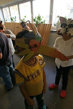 Animal mask workshop | Flickr: Intercambio de fotos