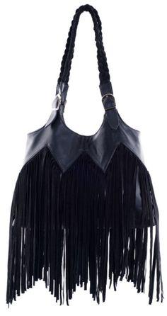 283fc0b5fbbf Ember Skye Shelly Bag in Black Suede