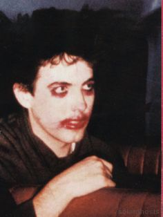 """solarghosts: """" Robert Smith from The Cure """""""