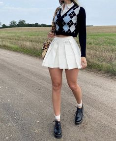 Indie Outfits, Preppy Outfits, Teen Fashion Outfits, Retro Outfits, Girly Outfits, Cute Casual Outfits, Look Fashion, Vintage Outfits, Winter Outfits