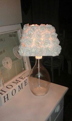 Nyt kokeiluna omaan lamppuun tää ruusu varjostin