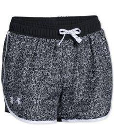 Under Armour Girls' Fast Lane Shorts | macys.com