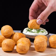 Obliterate Cravings with These Nduja Sausage Cheese Bread Bites One Bite Appetizers, Recipes Appetizers And Snacks, Dinner Recipes, Goat Cheese Recipes, Bread Recipes, Cooking Recipes, No Carb Bread, Whipped Goat Cheese, Finger Food