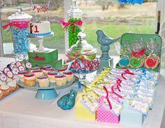 """""""Sweet Little Birdie """" 1st Birthday party."""