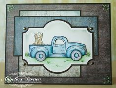 The Vintage Truck {Heartfelt Creations} - Scrapbook.com